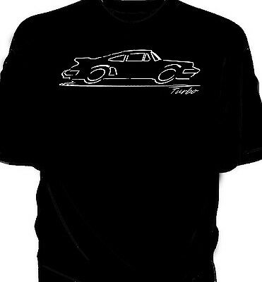 Classic 911 Turbo original art sketch  t-shirt
