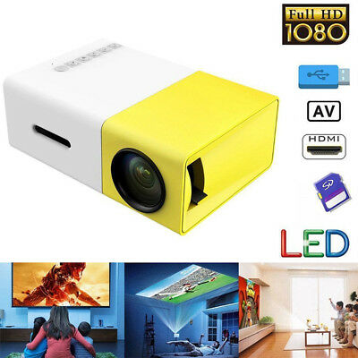 Led Mini Projector Lumihd High Resolution Ultra Portable HD 1080P Home Theater