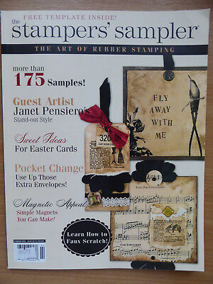 Stampington Stampers' Sampler Magazine - 2009 - The Art of Rubber Stamping
