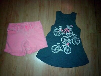 Justice & Gap Kids 2 Piece Girls Outfit Size 6