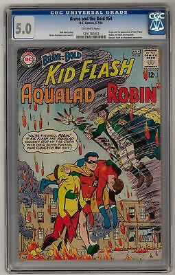 Brave and the Bold #54 CGC 5.0 (OW) Origin & 1st appearance of the Teen Titans