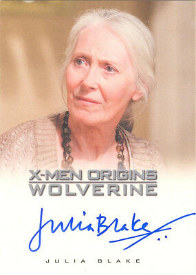 "X-Men Origins Wolverine - Julia Blake as ""Heather Hudson"" Auto/Autograph"