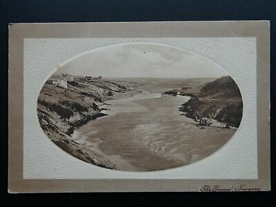 Cornwall NEWQUAY The Gannel c1910 Postcard by J. Welch & Sons