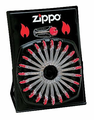 "Zippo ""Flint Dispenser"", Wheel Display, 24 Pks, 144 Total Flints, 2406C"