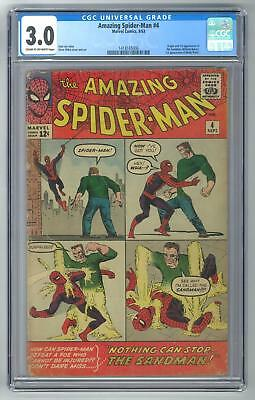 Amazing Spider-Man #4 CGC 3.0 (C-OW) Origin & 1st appearance of the Sandman