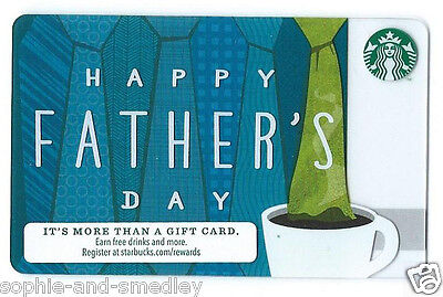2013 Starbucks Card - Happy Father's Day (Probably for FD 2014!)