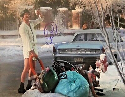 Randy Quaid Christmas Vacation Signed 11x14 Photo Autographed BAS Beckett COA B