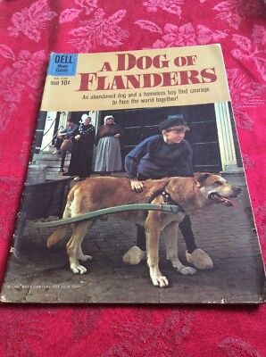 Four Color Comics #1088 1960 A Dog of Flanders Movie Dell s