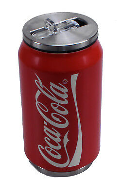 LaPLAYA Thermobecher Trinkdose Cool Can Coca Cola 0,33 Liter Sportflasche