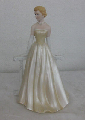 2004 HOME INTERIORS Figurine GRACE PATRICIA Lady by Fence #12251-04