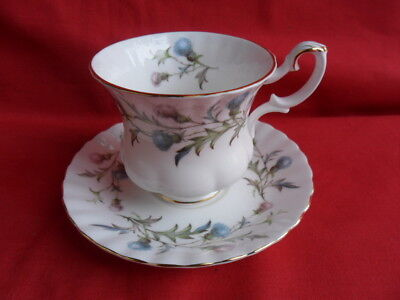 Royal Albert - Brigadoon, 4 x small Coffee Cups & Saucers REDUCED!