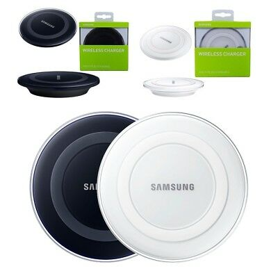 OEM Samsung Charging Qi Wireless Charger Pad for S6 S7 S8 Note 8 iPhone X 8 Plus
