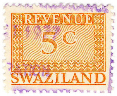 (I.B) Swaziland Revenue : Duty Stamp 5c
