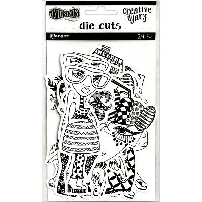 Dyan Reaveley's Dylusions Creative Dyary Die Cuts-