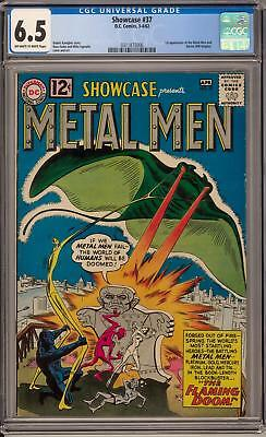 Showcase #37 CGC 6.5 (OW-W) 1st appearance of the Metal Men Will Magnus