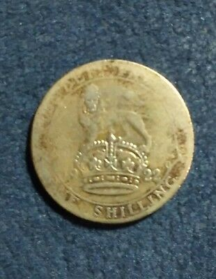 1922 Great Britain one shilling
