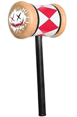 Suicide Squad Harley Quinn Toy Weapon Costume Prop Mallet