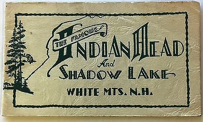P145    Indian  Head,  White Mountains.,  N.h.    Booklet