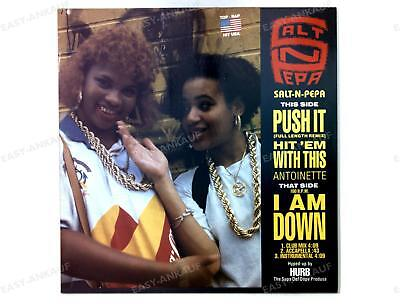 Salt-N-Pepa / Antoinette - Push It / Hit 'Em With This / I Am Down Maxi 1988 /3