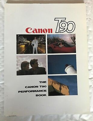 Canon T90 Performance Book, Softback Book