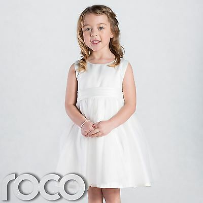 Girls Ivory Dress, Ivory Flower Girls Dress, Girls Bridesmaid Dresses