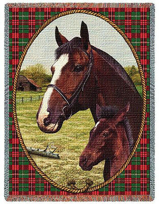 Throw Tapestry Afghan - Cheval 297
