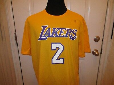 BRAND NEW LOS Angeles Lakers Lonzo Ball  2 Adidas Authentic Men s Size  Shirts -  17.59  6e32625d0