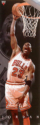 Michael Jordan Official NBA Door Size Poster - approx 1500mm x 40mm - new