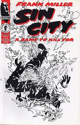 Sin City A Dame To Kill For  #2 (NM) `94 Miller