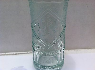 """Miller Becker Co. Ace Hy deco 9oz soda bottle - """"Hy"""" ground off - Cleveland, OH"""