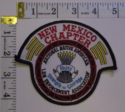 New Mexico Chapter National Native American Leo  Association Shoulder Patch
