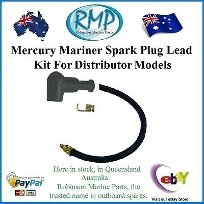 A Brand New Universal Spark Plug Lead Suits Mercury Mariner Distributor Models