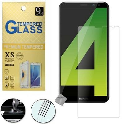 Film de protection vitre verre trempe transparent pour Huawei Mate 10 Lite