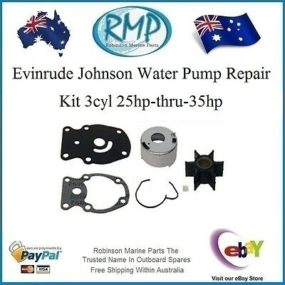A Brand New Evinrude Johnson Water Pump Kit 3cyl 25hp-thru-35hp # R 437907