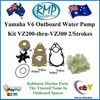 A Brand New Yamaha Water Pump Kit VZ200hp-thru-VZ300hp # R 60X-W0078-00 + 61A-H