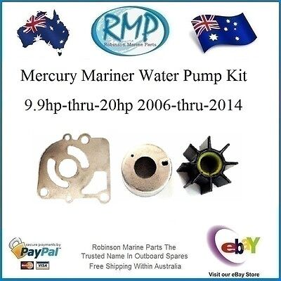 A Brand RMP New Water Pump Kit Mercury Mariner 9.9hp-thru-20hp # R 362-87322-1