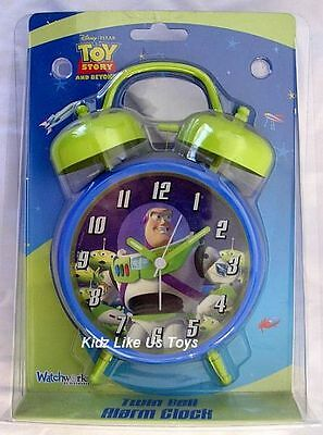 ~ Toy Story - Buzz TWIN BELL ALARM CLOCK