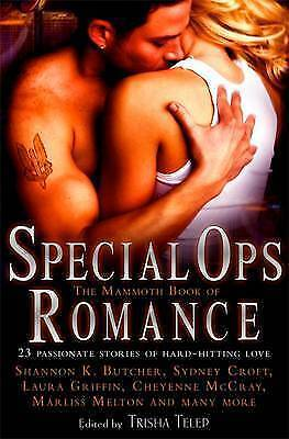 The Mammoth Book of Special Ops Romance by Trisha Telep (Paperback, 2010) New
