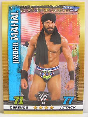 Slam Attax - #A016 Jinder Mahal - 10th Edition Exclusive