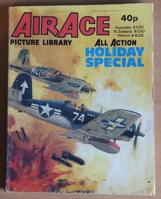 AIR ACE PICTURE LIBRARY 1980 Holiday Special Comic, 192 pages, 40p cover price.