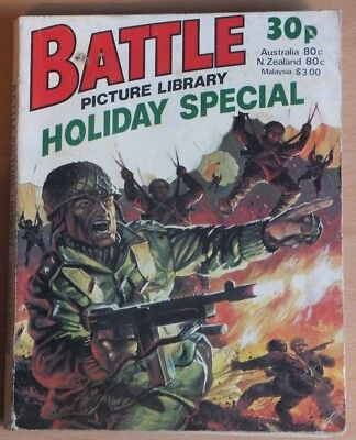 BATTLE PICTURE LIBRARY 1978 Holiday Special Comic, 192 pages, 30p cover price.