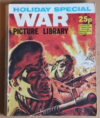 WAR PICTURE LIBRARY 1976 Holiday Special Comic, 192 pages, 25p cover price.
