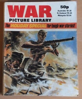 WAR PICTURE LIBRARY 1982 Holiday Special Comic, 192 pages, 50p cover price.