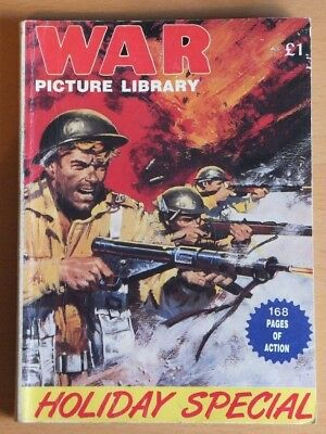 WAR PICTURE LIBRARY Holiday Special Comic, 168 pages, £1 cover price, undated.