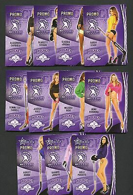 Lot of (11) 2015 Benchwarmer Spring Expo Promo Cards