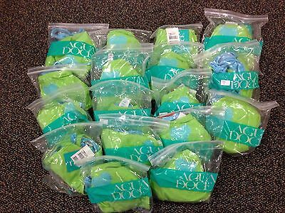 AGUA DOCE Green & Blue Little Hearts Bikini swimsuit Wholesale LOT 42 Pcs