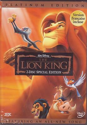 3 DVDs - THE LION KING 1 1.5 2 - Walt Disney - Special Edition - Simba's Pride