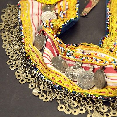Kuchi Tribe ATS Bellydance Tribal Dangles BELT 868c9