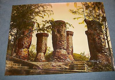 1962 Photo Old Photograph Cham Temple Tower Ruins Jungle Cambodia Vietnam Quynh