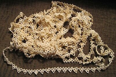 20 Plus Feet of Vintage Tatted Lace Edging